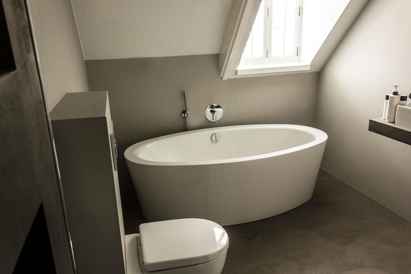 Badkamer Beton Interieur : In tens groep badkamer